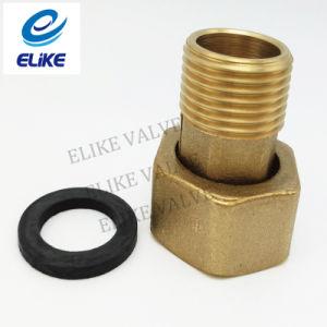 "1 - 1/4""X1-1/2"" - 45mm Length Brass Adaptor with 1-1/2"" Gasket"