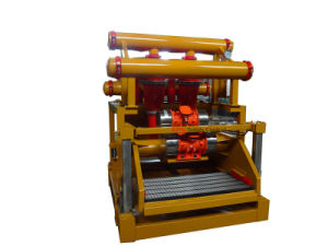 Mud Cleaner with Desander and Desilter for Oilfield Rig
