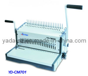 Comb Binding Machine YD-CM701 pictures & photos