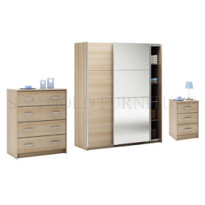 Modern Sliding Doors Wardrobe Set (SZ-WD031) pictures & photos