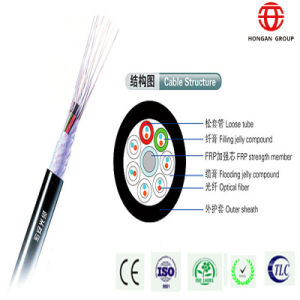 Outdoor 6 Core Thunder Proof Optical Fiber Cable pictures & photos