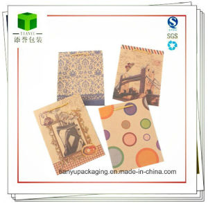 Cartoon Pattern Brown Paper Bag/Christmas Gift Bag pictures & photos