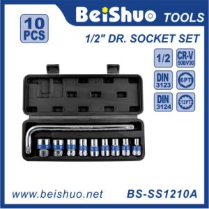 10PCS High Quality Carbon Steel Socket Set for Tyre Removal pictures & photos
