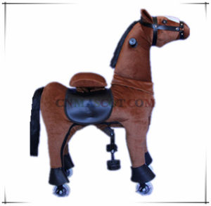 New Popular Mechanical Ride on Horse Plush Toy for Kids