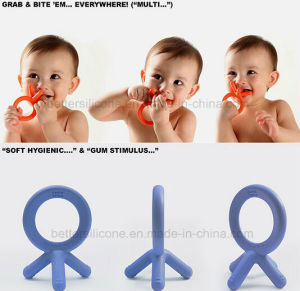Safe Non-Toxic Silicone Baby Teether Toys pictures & photos