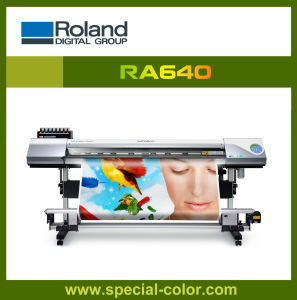 Roland Outdoor Solvent Printing Machine Ra640 with Epson Dx6 Printhead pictures & photos