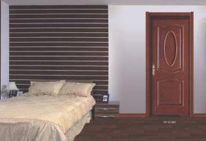 environmental Interior Door Solid Wood Lacquer Bake Bedroom Door pictures & photos