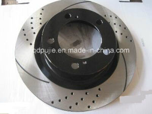 Cross Drilled and Slotted Brake Disc pictures & photos