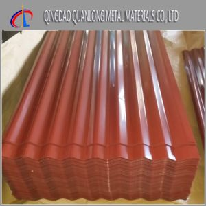Prepainted Galvanized Corrugated Steel Roofing Sheet pictures & photos