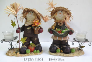 Polyresin Harvest Festival Home Decoration (JN17) pictures & photos