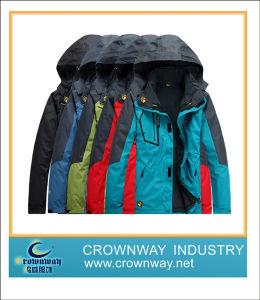 Men Outer Wear Winter Waterproof Windproof Ski Jacket Snow Coat pictures & photos