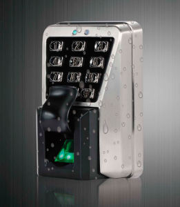 Outdoor Weatherproof Metal Fingerprint Access Control Fac500 pictures & photos