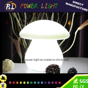 Mushroom Shape LED Garden Lamp with 16 Colors Changing pictures & photos
