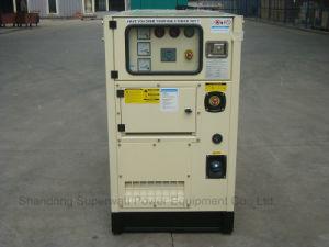 Super Silent Type Generator Set by Kubota Power 8.8kVA-40kVA pictures & photos