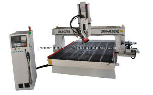 High Precision 4 Axis Auto Tool Changer CNC Router with Ce/SGS Cetificated