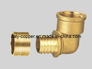 ISO9001 Certified Brass Forged Elbow for Pex Fitting (AV9080) pictures & photos