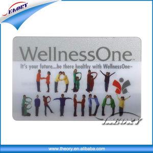 Clear Transparent PVC Business Card pictures & photos