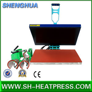 Manual Hot Sale T-Shirt Heat Transfer Machine for Sale pictures & photos