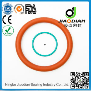 Silicone O Rings of Size Range As568, JIS2401 on Short Lead Time with SGS CE RoHS FDA Certified (O-RINGS-0080)