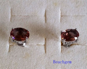 Jewellery-Synthetic Zultanite Sterling Silver Earring (E1586) pictures & photos
