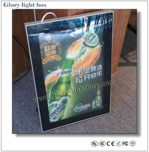 Slim Magnet Frame Advertising Light Box (CB010) pictures & photos