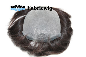 0.03mm PU Toupee pictures & photos