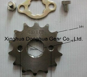 New 14 T Tooth 20mm Front Engine Sprocket for 420 Chain for Honda YAMAHA Kawasaki Motorcycle Moto Pit Dirt ATV Parts Bike pictures & photos