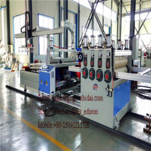 2017 PVC Floor Board Machine WPC Floor Base Layer Extrusion Line