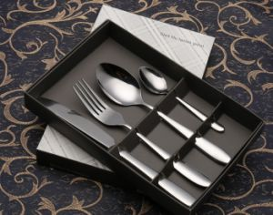 Steak-Knife Stainless Steel Cutlery Set for Tableware (C014) pictures & photos