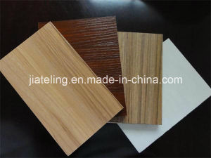 Good Grain Color Melamine Plywood pictures & photos
