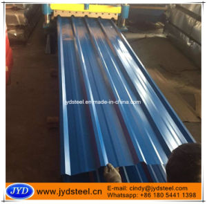 Blue Color Corrugated Roofing Iron Sheet pictures & photos