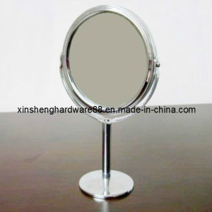 2014 SGS Certified Metal Fashion Cosmetic Desk Mirror (XS-M0111) pictures & photos