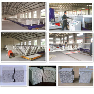 Concrete Compound Wall Panel Forming Machine/Lightweight EPS Wall Panel Machine pictures & photos