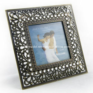 Square Alloy Photo Frame for Human or Catoon (OEM) pictures & photos