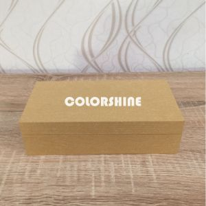 Topmarket Jewellery Wooden Like Paper Packing display Gift Box