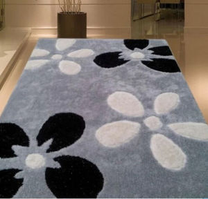 Machine Made Tufted Cut & Loop Wool Hotel Carpets (T97) pictures & photos