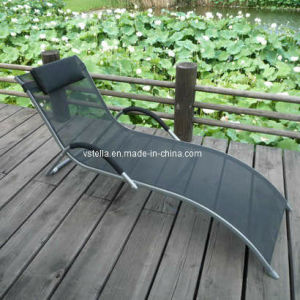 Garden Outdoor Model Textilene Lounger Furniture pictures & photos