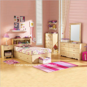 Lily Rose Kids Twin Bed Captain Storage Bedroom Set with 5PCS pictures & photos