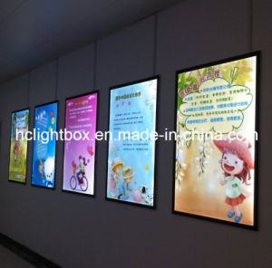LED Aluminum Frame Crystal Light Poster Panel pictures & photos