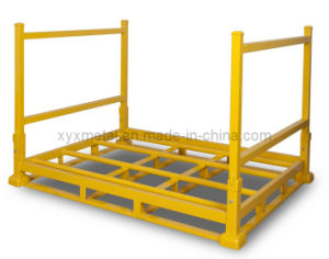 Collapsible Warehouse Folding Metal Storage Stacked Tire Rack pictures & photos