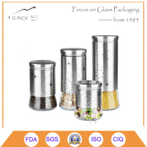 Stainless Steel Food Storage Containers with Decoration pictures & photos