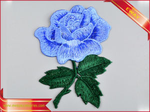 Jacket Decoration Embroidery Fabric Patch Iron Applique Patch pictures & photos