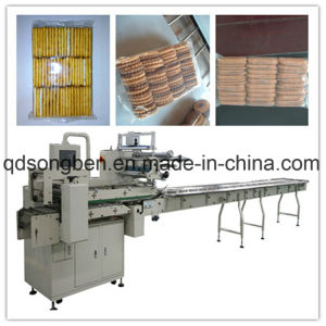 on Edge Multi-Rows Packing Machine for Crackers pictures & photos