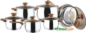 5PCS Aluminium Cookware Set (000002519) pictures & photos