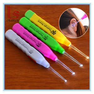 Adult Kid LED Light Flashlight Ear Cleaning Remover Tweezer Earpick pictures & photos