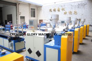 Plastic Machinery for Producing Double Color Polycarbonate Lamp Chimney pictures & photos