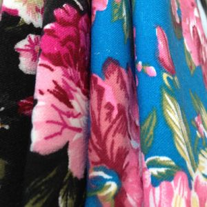 Printed Spandex Cotton Fabric pictures & photos