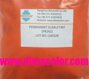 Plastic Pigment Permanent Scarlet 4RF (Pigment Red 242) pictures & photos