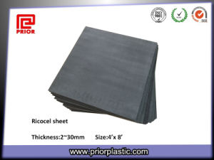 Black Ricocel Sheet with Size 1220X2440mm pictures & photos