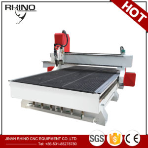 Factory Price Vacuum Table 7.5kw MDF CNC Engraving Machine pictures & photos